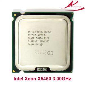 Процессор Intel Xeon X5450 с наклейкой
